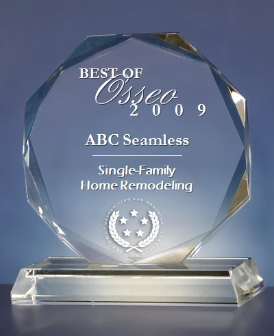 2009 ABC Seamless Home Remodeling Award
