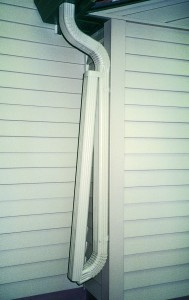 Large Downspouts from ABC Seamless