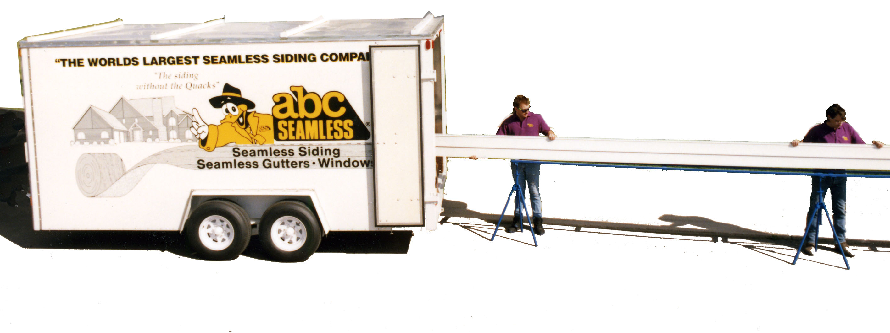 Seamless Siding Trailer