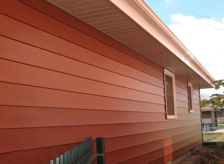 Cinnamon Siding Color