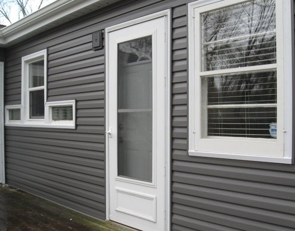 Charcoal Gray Siding Color