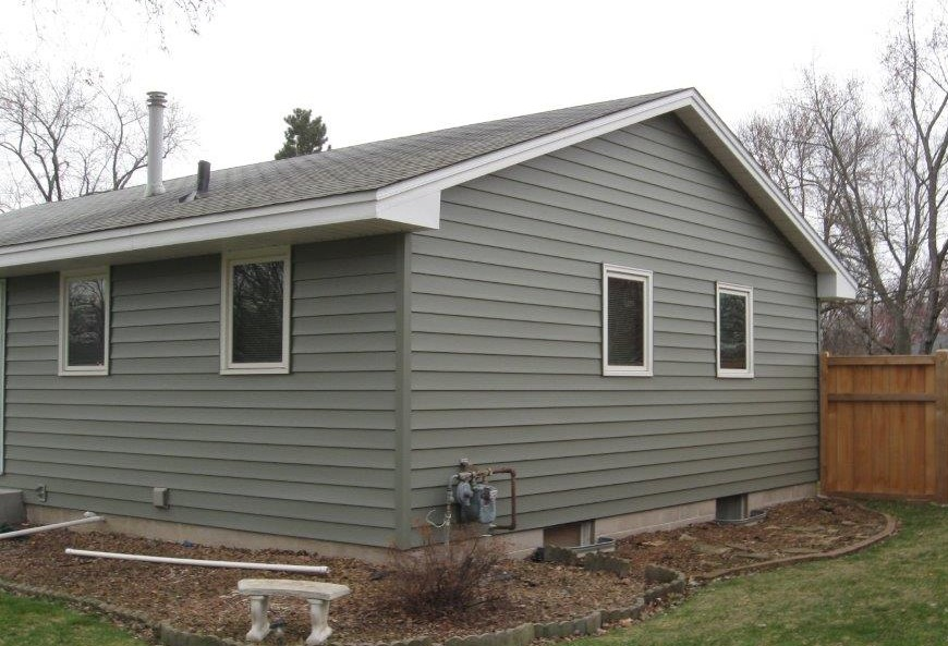Sage Siding Color