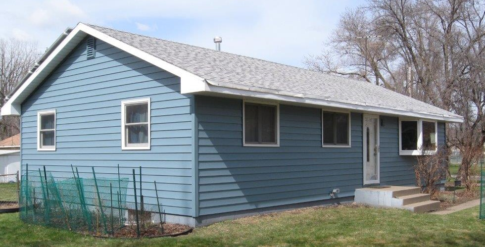 ABC Seamless Siding Heritage Blue