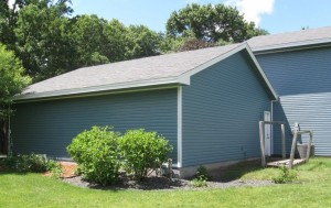 Seamless Siding in Heritage Blue
