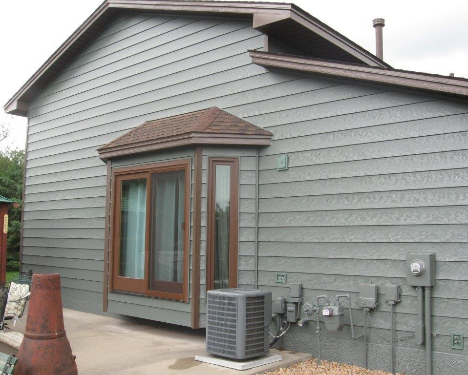 Seamless Steel Siding & Trim