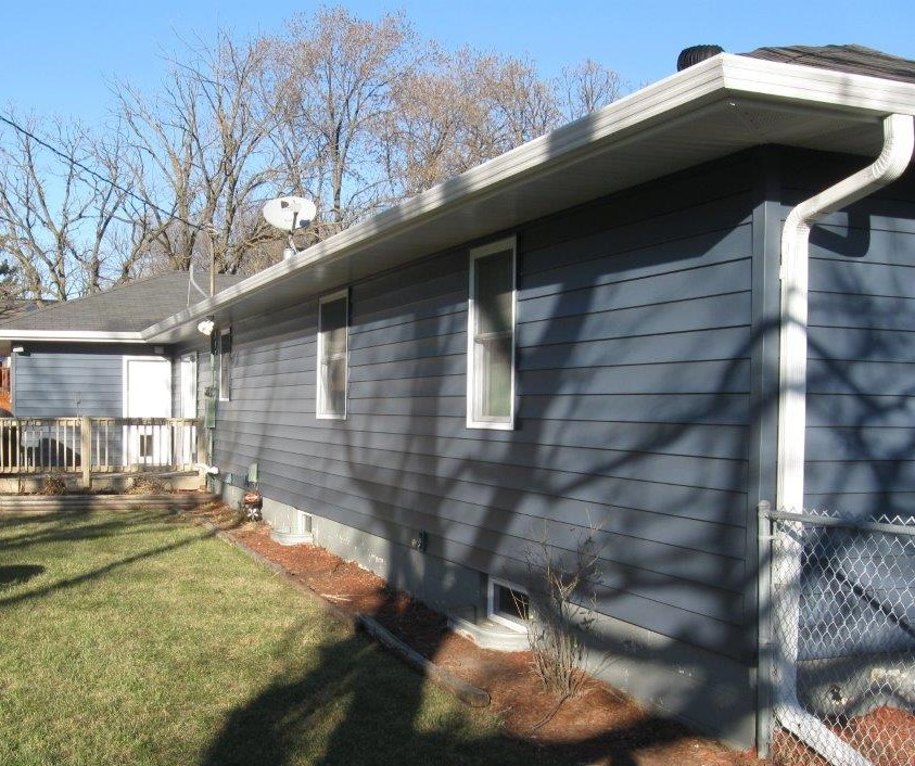 New ABC Seamless Steel Siding & Gutters in Coon Rapids
