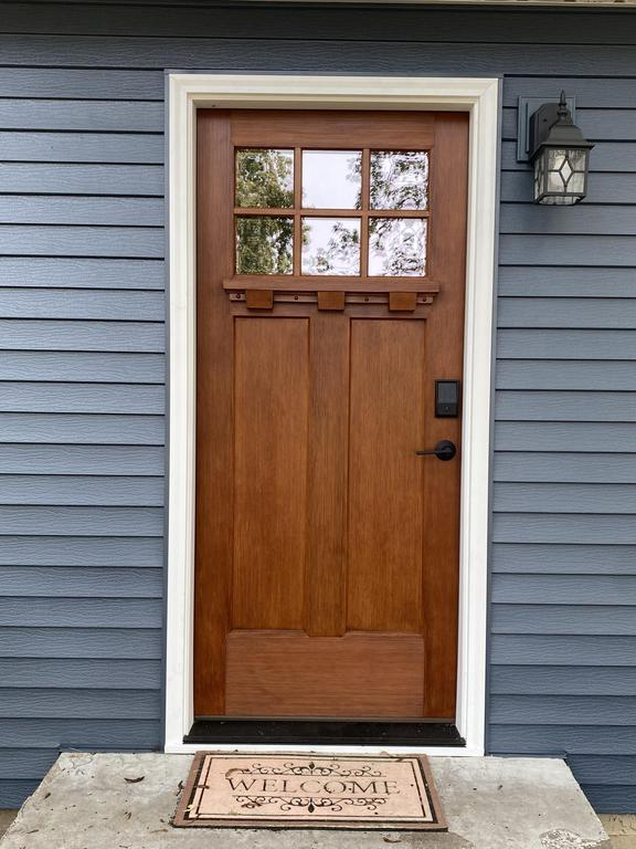 Beautiful New Entry Door from ABC Seamless