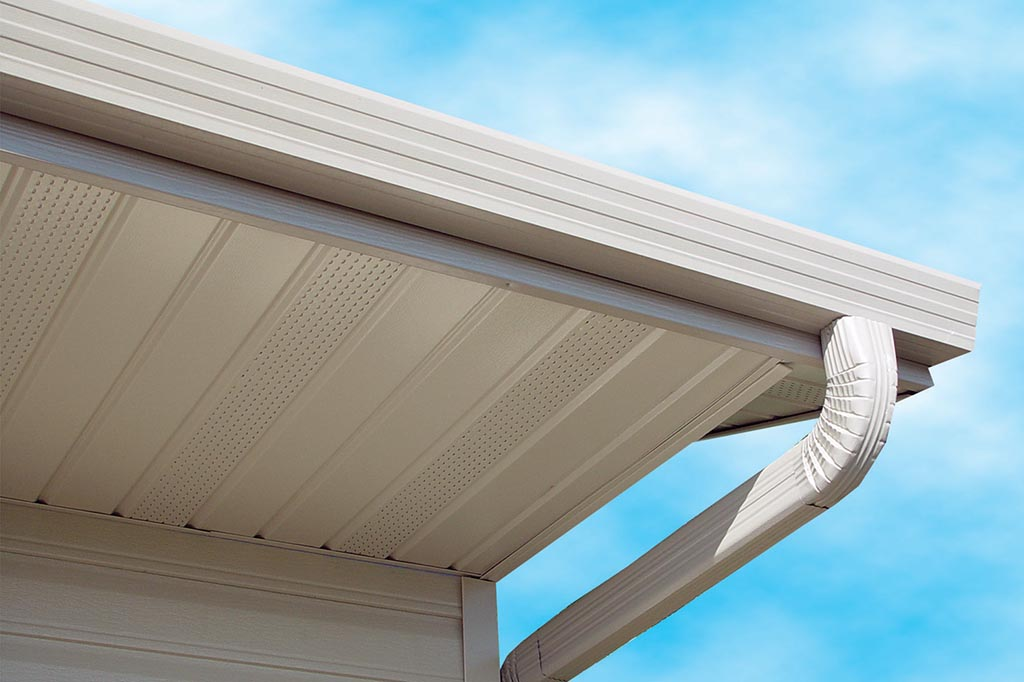 Seamless Gutter Systems Reduce Water And Ice Issues Leaf