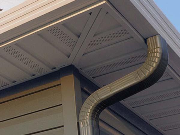Steel Soffits And Fascias Seamless Siding Installation Amp Maintenance Maple Grove Mn