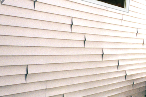 Seamless steel siding installation durable low for Horizontal metal siding
