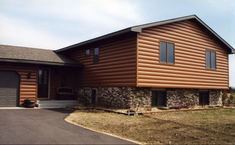 Seamless Log Siding Photos Abc Seamless Log Home Siding